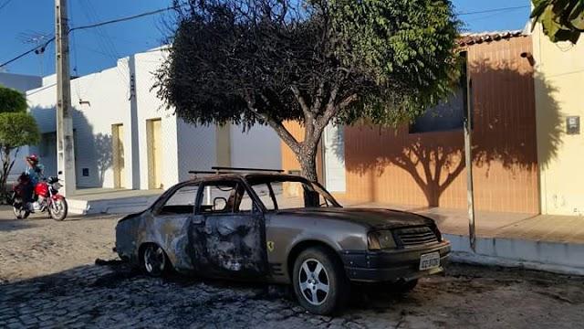 Candidato a vereador tem automóvel incendiado durante a madrugada em Luís Gomes