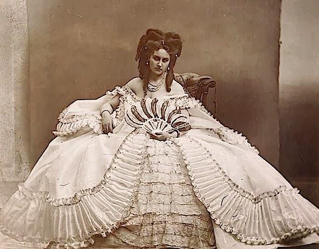 Biografía de la condesa de Castiglione resumen