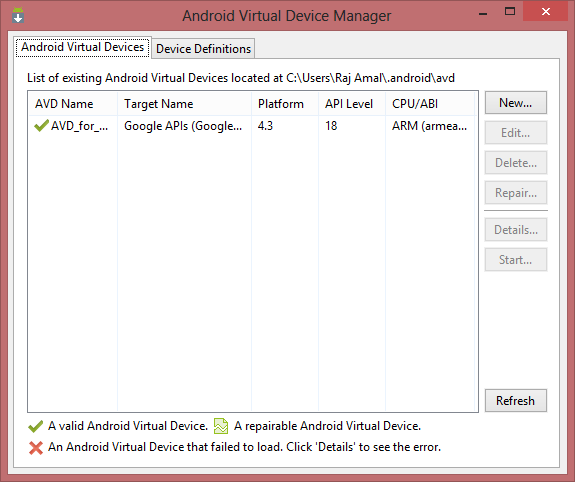setup android sdk in linux, windows