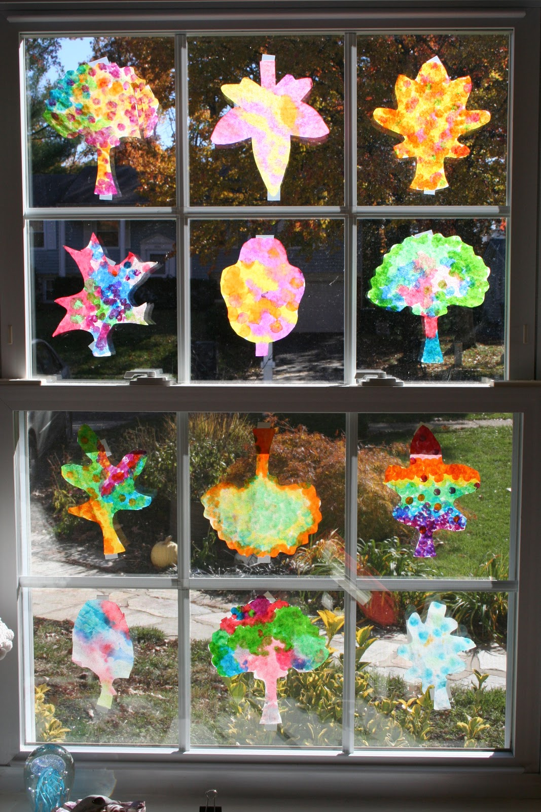 Coffee Filter Crafts Fall Leaves Homemade Mother Day Crafts For Preschoolers