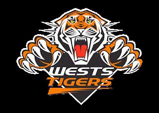 Wests Tigers Logo Vector