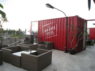 the container grill