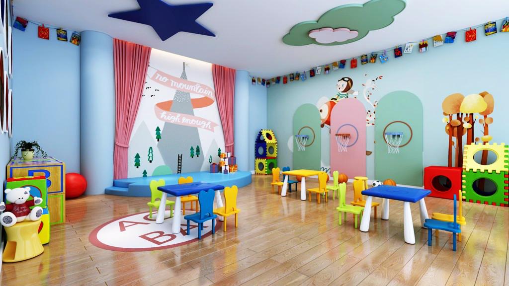 Khu vui chơi trẻ em của chung cư T&T Dc Complex