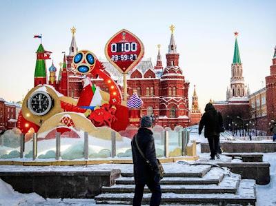 Piala Dunia 2018 diselenggarakan di Rusia (republika.co.id)