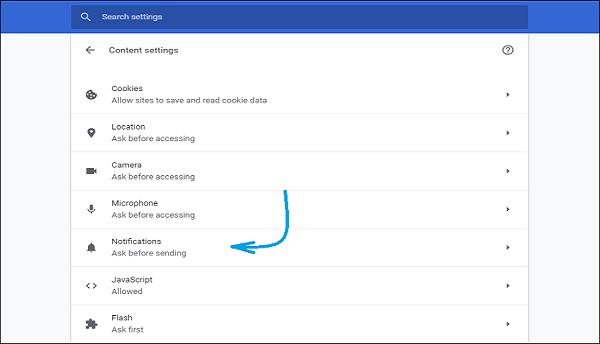 Cara Menghilangkan Notifikasi Website di Google Chrome Desktop