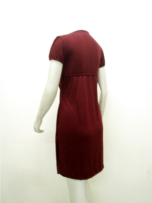 Model Baju Pesta Dress Kaos Spandex Hitam