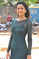 Simran Choudhary Cute beauty with dimples in transparent Green Tight Short Dress ~  Exclusive 003.jpg