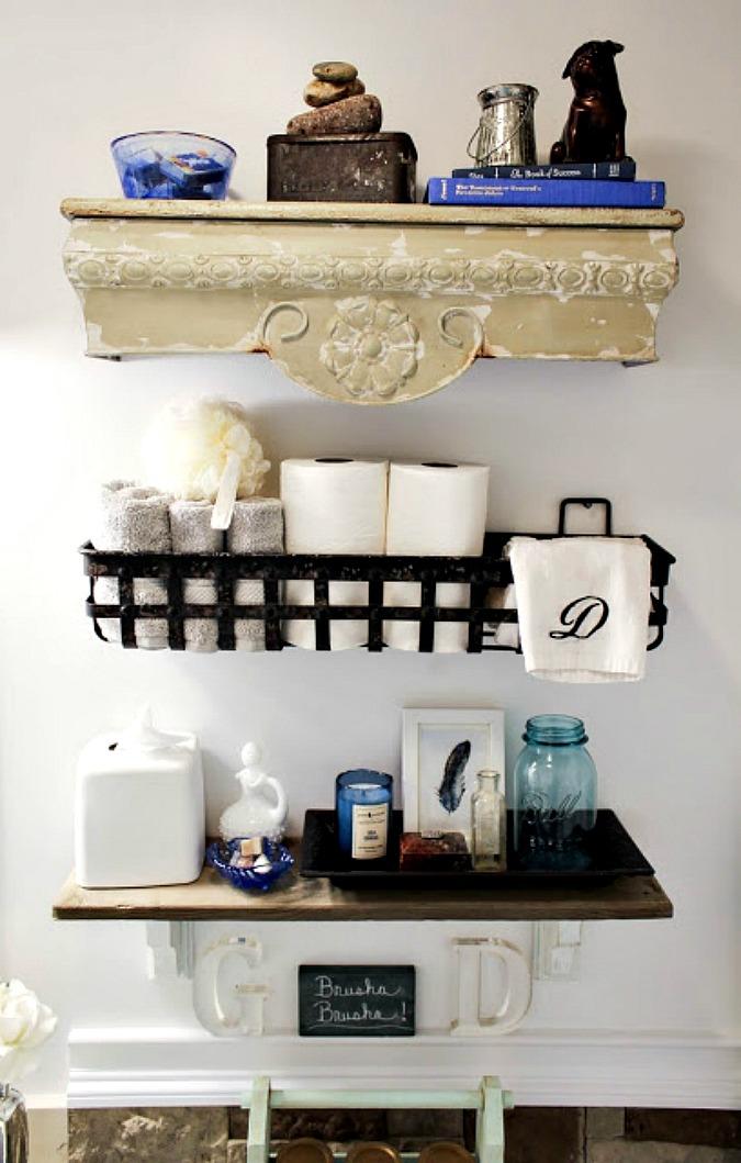 DIY Wooden Pallet Shelf