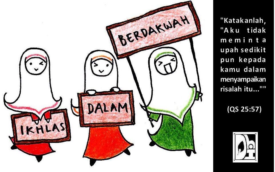 Nuansa Diponegoro Berdakwah Islam Animasi Dakwah Muslimah