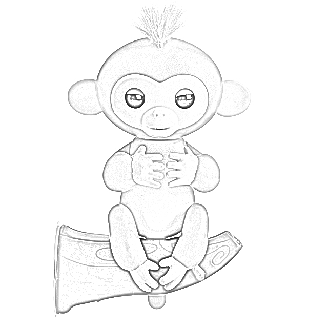 Coloring Pages: Fingerlings Coloring Pages Free and ...