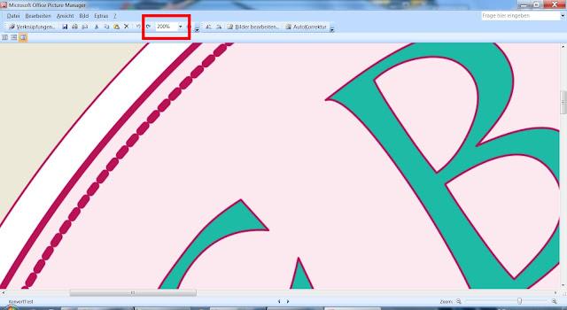 Screenshot der Zoom-Ansicht des Textlogos