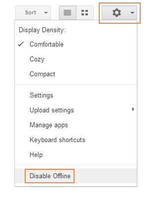 Disable Offline