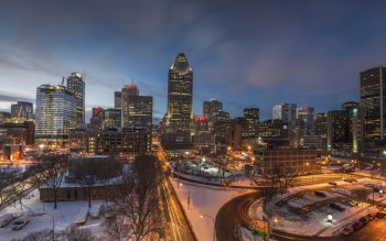 Wallpaper: Montreal City