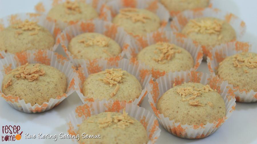 Cara Membuat Kue Kering Sarang Semut