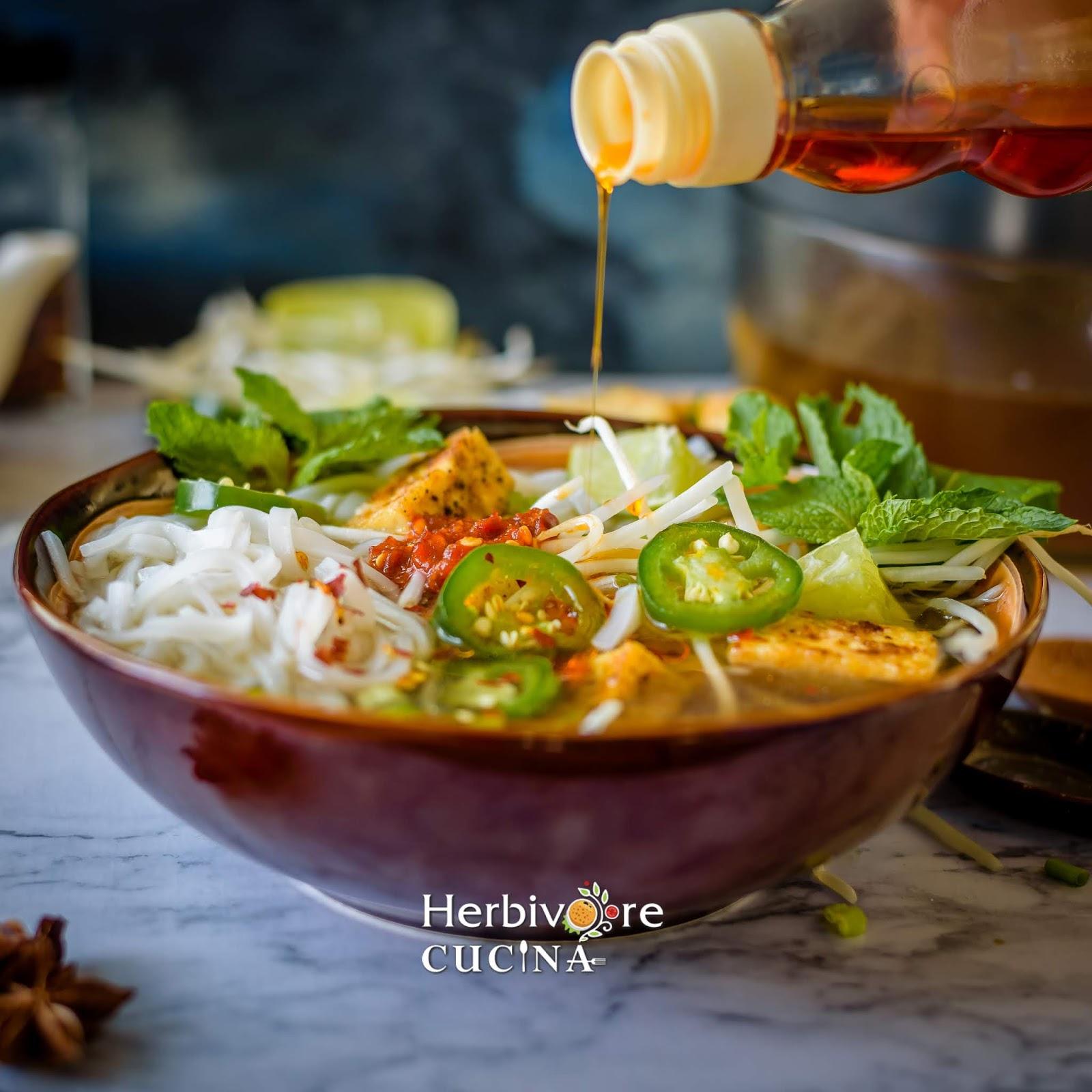 Herbivore Cucina: Instant Pot Vegetarian Pho