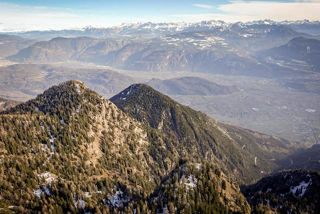 Ausblick Bozen Monte Roen