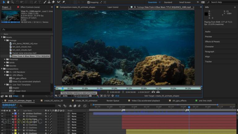 Adobe After Effects CC   15.1 DMG Mac Free Download [2 ...