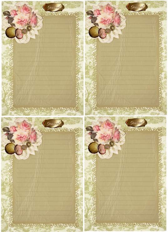 Memories Journal Cards