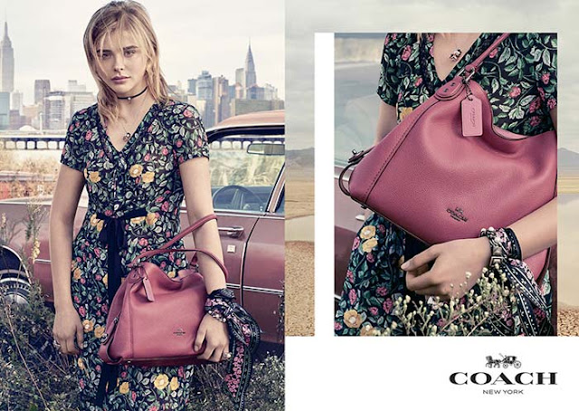 Coach Spring/Summer 2017 Campaign featuring Chloe Grace Moretz