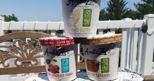 Summertime Treat with Arctic Zero Review and Giveaway