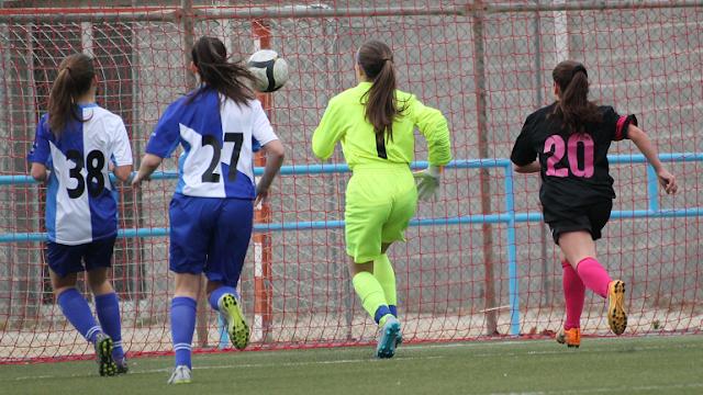 Lucía va salvar una vaselina d'Anna i va evitar el 3-1.