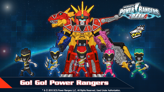 Game Power Rangers Dash MOd v1.6.3 Apk (Unlimited Power) for Android Terbaru