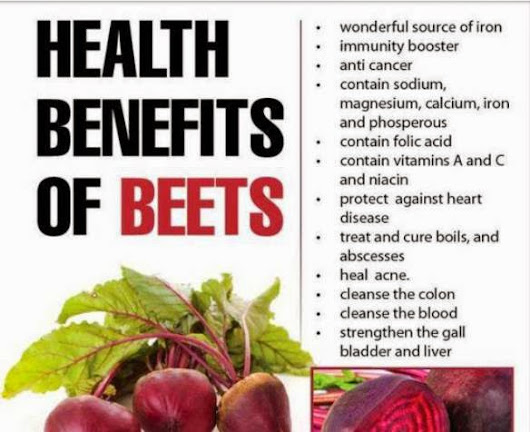 Amazing Health benefits of Beets