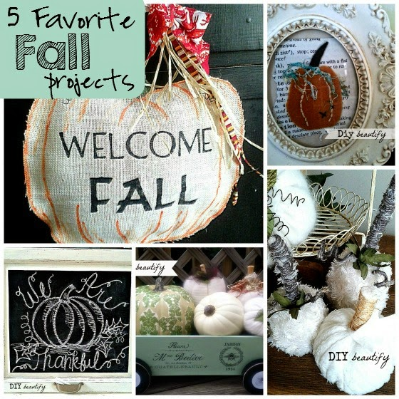 Fall Projects www.diybeautify.com #pumpkin #DIY #chalkboard