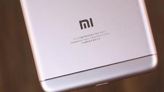 Logo thương hiệu phía sau của Xiaomi Redmi 5