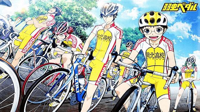 anime balap sepeda
