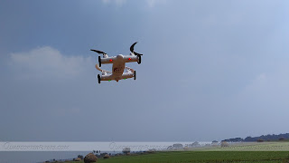 Sy X25 Quadcopter Car Flying Bottom View