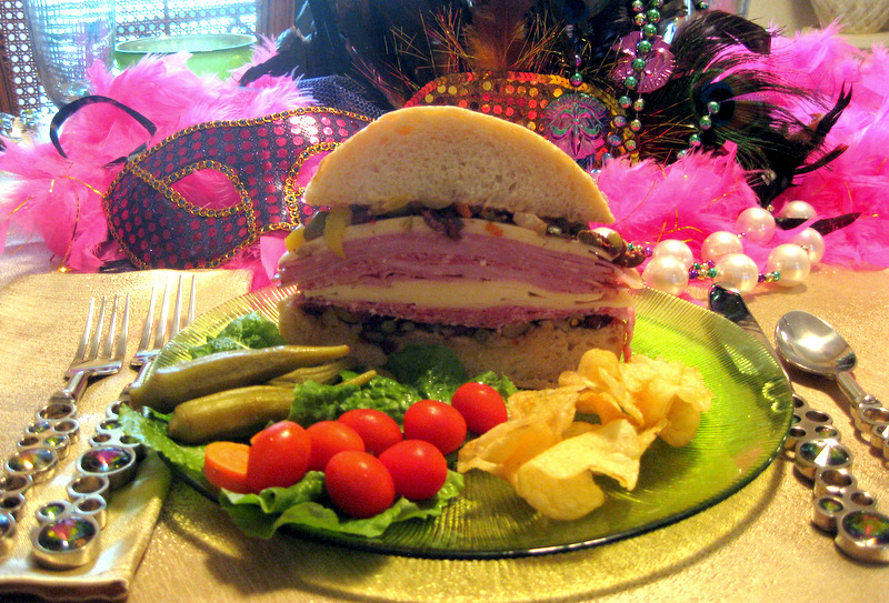 Doskogirl Muffuletta With Olive Salad A New Orleans Classic