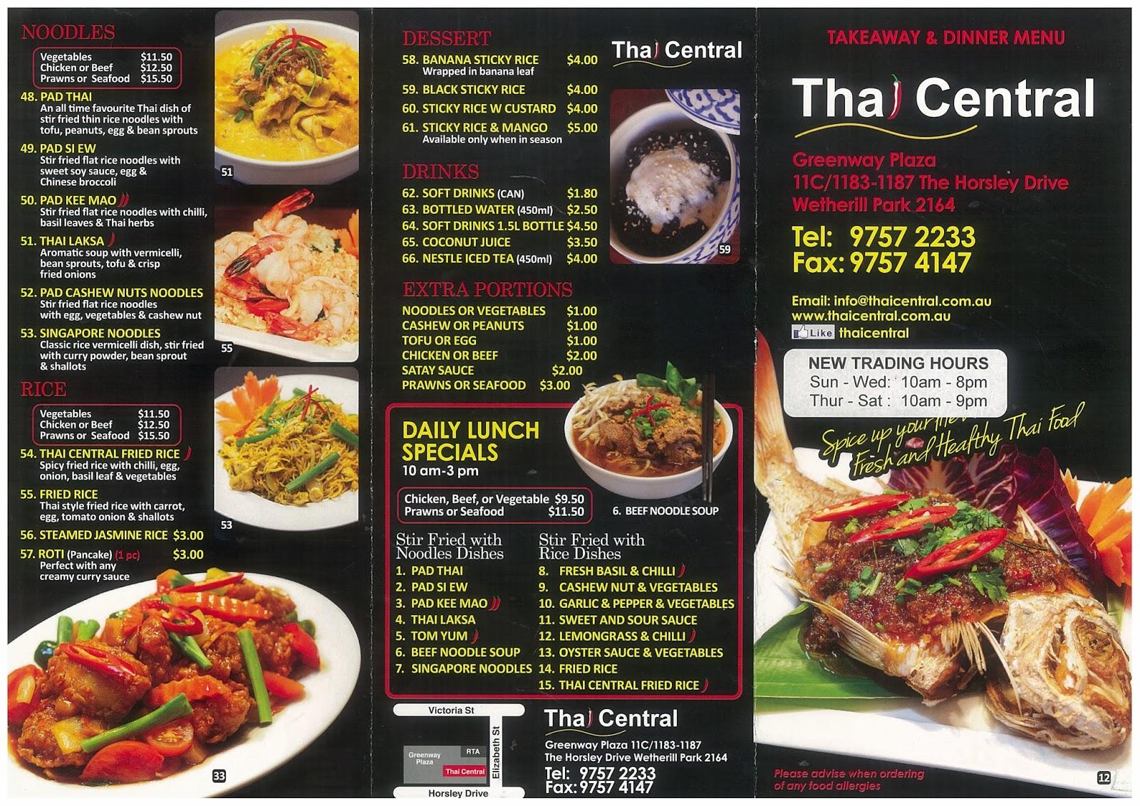 Thai Food Wetherill Park