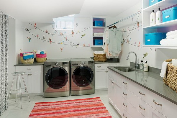 Creative Laundry Rooms Decor Ideas - Room Organization Ideas 10