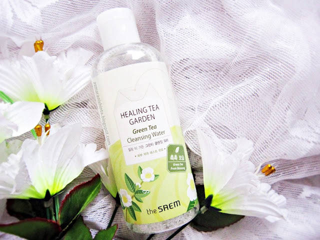 review the saem healing tea garden cleansing water
