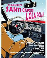 Concierto de Santi Capote y Lola Polar en Fotomatón Bar
