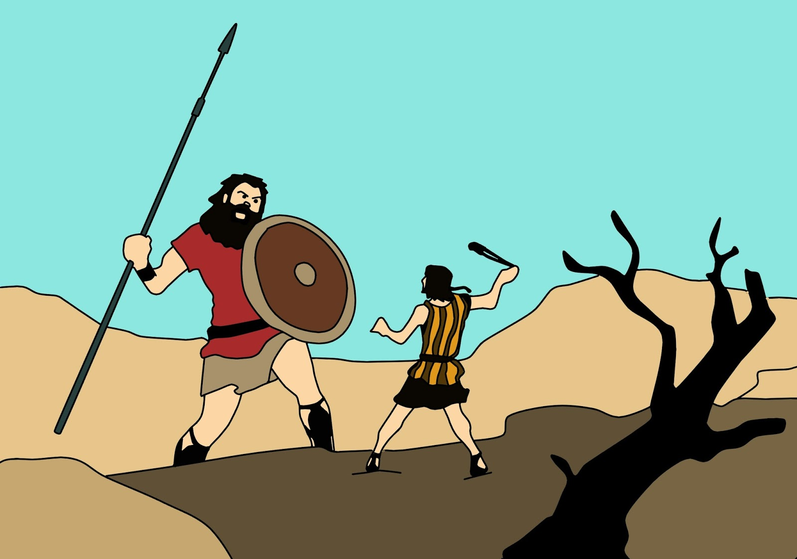 Aprendendo com Davi, Davi derrotou Golias, Davi derrotou o gigante, Blog Dança Cristã, Por Milene Oliveira