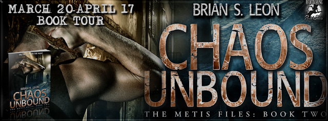 Q&A with author Brian S. Leon, author of Chaos Unbound