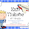 Exit Tickets & a FREEBIE!