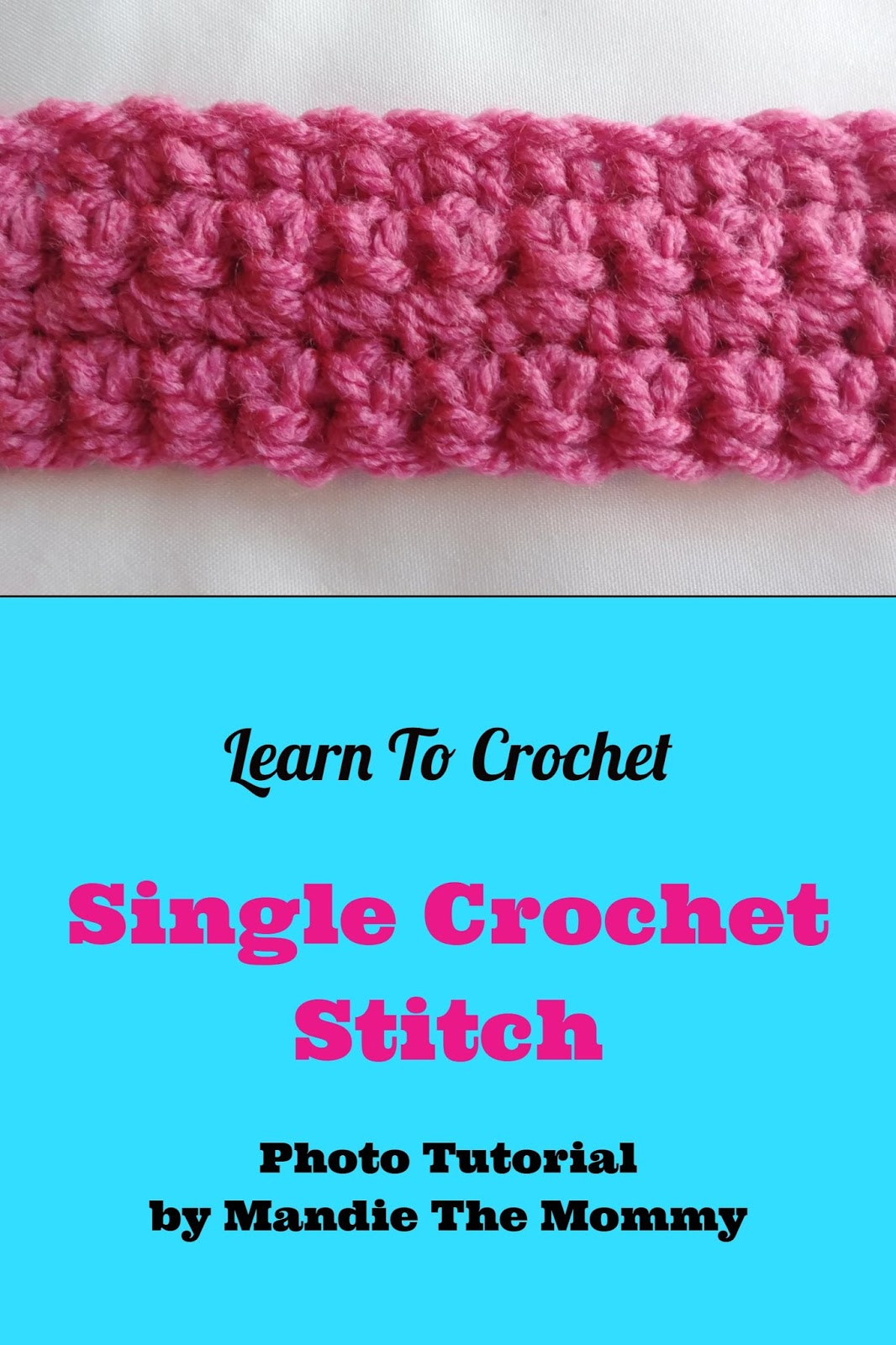 Introduction to Crochet: Single Crochet and Slip Stitch