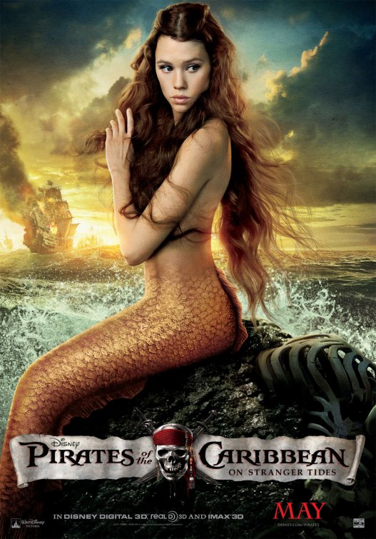 Pirates of the Caribbean mermaid poster