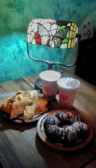 menu, amor cafe, ubelt, philippines