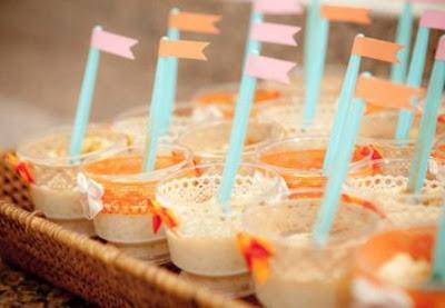 canjica doce mungunza sobremesa lanche festa junina junino coco canela amendoim como servir dica gourmet elegante copinho bandeirinha