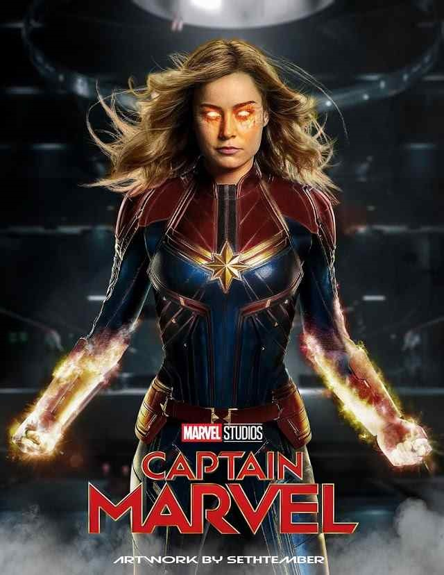 Captain marvel movie download in dual audio : tamilrockers