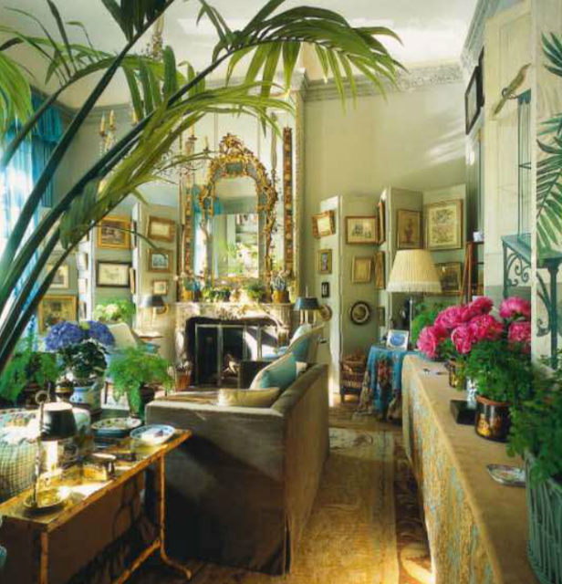 Gorgeous interiors by Fritz von der Schulenburg for The World of Interiors