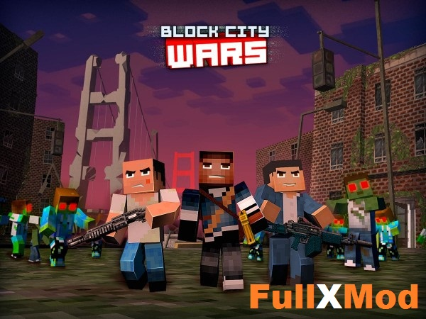 Block City Wars Mod APK Data Full