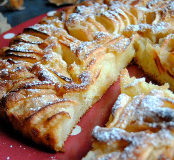 recette Tarte suisse aux pommes