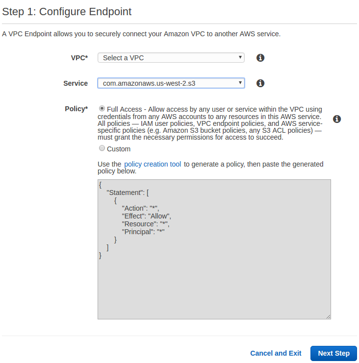 Big Data and Cloud Development Tips  : VPC Endpoint to Access S3