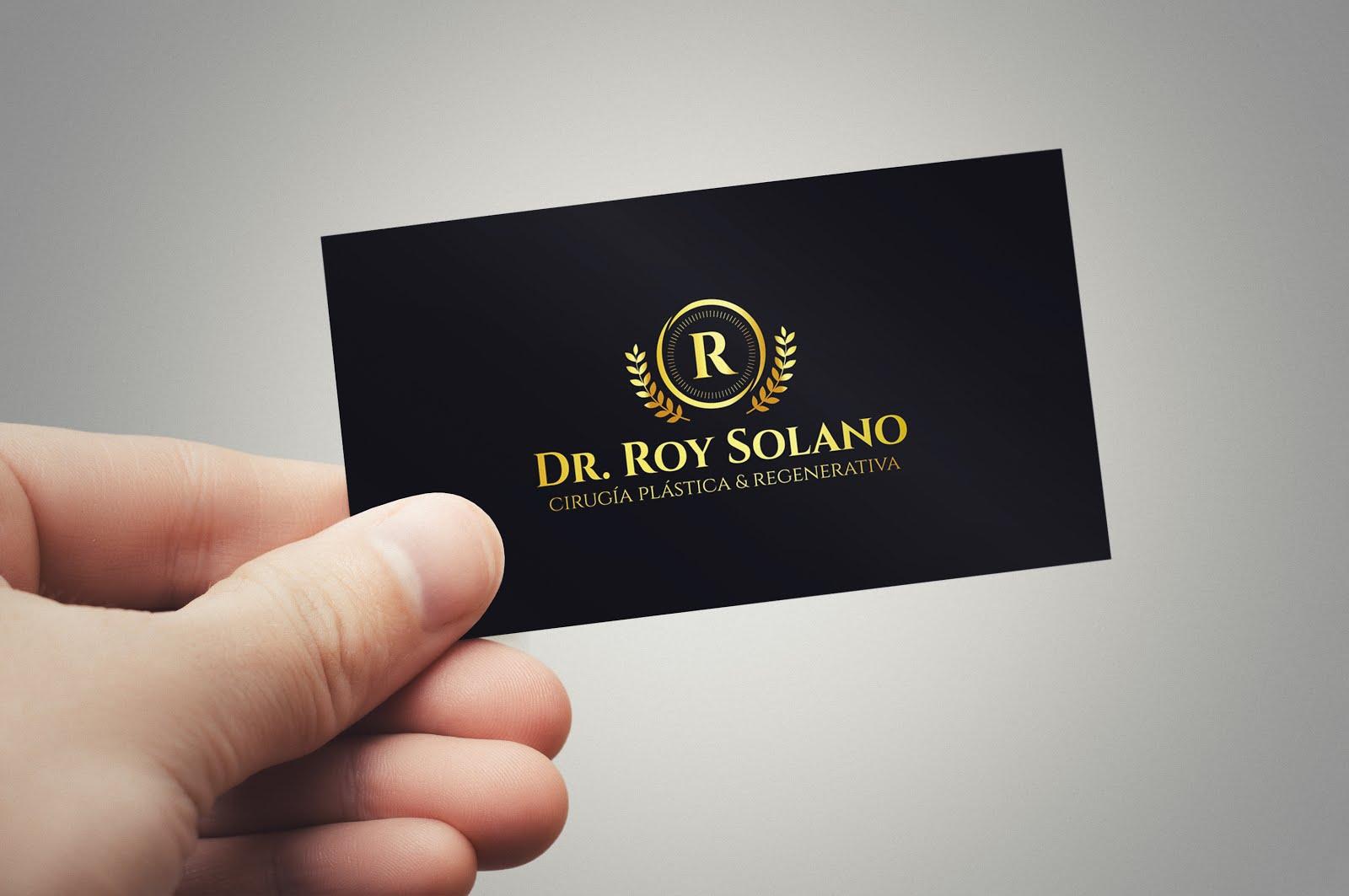 Tarjetas Personales  Dr Roy Solano