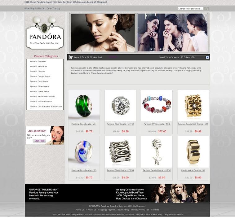Jewelry Stores Pandora: Pandora Jewelry Store, 2012 USA New Cheap Pandora Jewelry